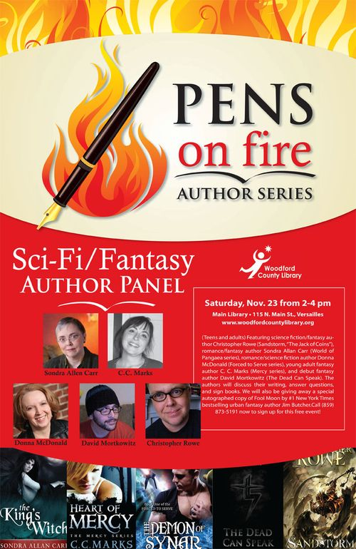 Pens-on-Fire-Sci-FiFantasy-Author-Panel
